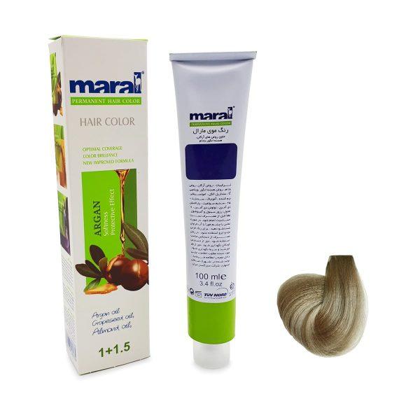 رنگ موی مارال سری دودی بلوند دودی خیلی روشن شماره ۱-۹ حجم 100 میلی لیتر