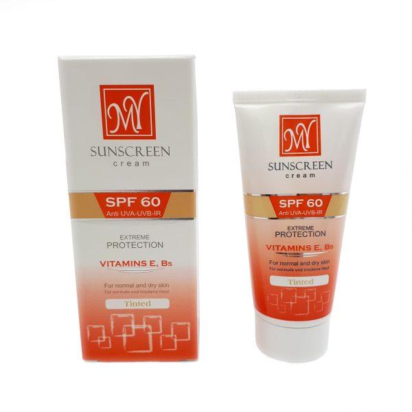 کرم ضد آفتاب مای ۶۰ SPF حجم ۵۰ میلی لیتر