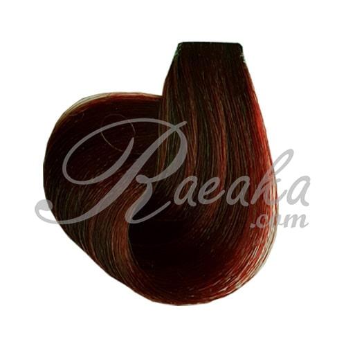 رنگ موی نیو پرستیژ سری قرمز- بلوند مسی آلبالویی تیره- شماره ۶٫۴۵ حجم ۱۲۰ میل