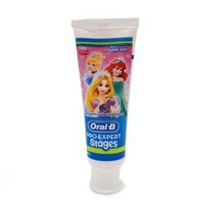خمیر دندان کودک ORAL B طرح دخترانه