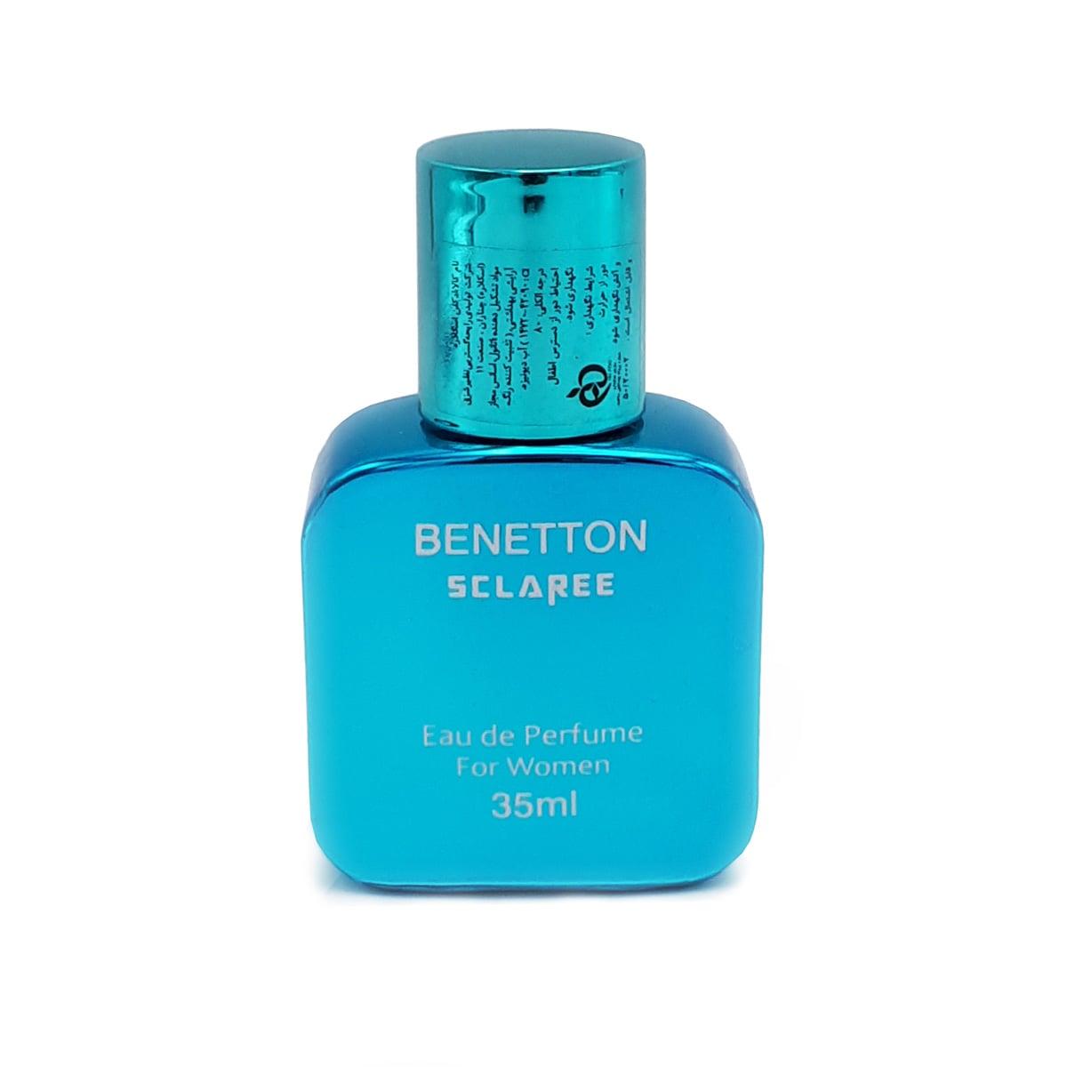 عطر جیبی مردانه اسکلاره مدل BENETON حجم ۳۵ میلی لیتر