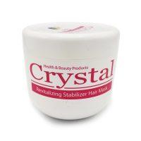 ماسک مو تثبیت کننده رنگ با آبکشی کریستال حجم ۵۰۰ میلی لیتر