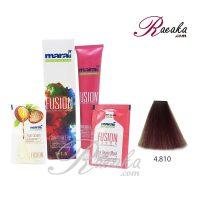 رنگ موی بدون آمونیاک مارال فیوژن سری VIBRANCE- برزیلی- شماره ۸۱۰-۴ حجم ۱۰۰ میلی لیتر