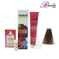 رنگ موی بدون آمونیاک مارال فیوژن سری CANVAS- ذغالی- شماره ۱۹۱-۴ حجم 100 میلی لیتر