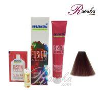 رنگ موی بدون آمونیاک مارال فیوژن سری VIBRANCE- برزیلی- شماره ۸۱۰-۴ حجم 100 میلی لیتر