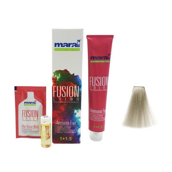 رنگ موی مارال فیوژن سری PRECIOUS METAL سفید خاکستری ۲۱۰-۶