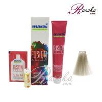 رنگ موی بدون آمونیاک مارال فیوژن سری PRECIOUS METAL- سفید خاکستری- شماره ۲۱۰-۶ حجم 100 میلی لیتر