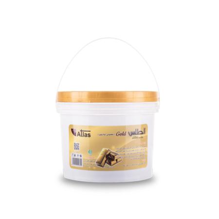 موم سرد پودر طلا اطلس وزن ۴ کیلو گرم