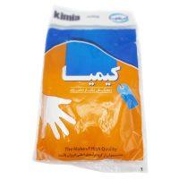 دستکش یکبار مصرف کیمیا بسته 100 عددی