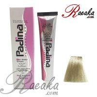 رنگ مو پادینا سری خاکستری بلوند خاکستری پلاتینه A10 حجم ۱۰۰ میلی لیتر