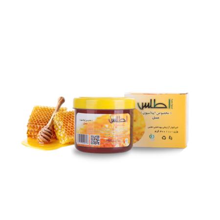 موم سرد با عصاره عسل اطلس وزن 300 گرم