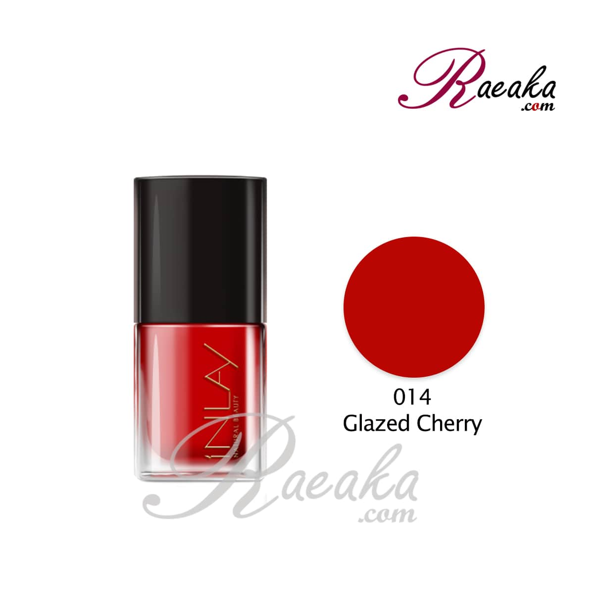 لاک ناخن این لِی مدل Glazed-Cherry شماره 014 حجم ۱۲ میلی لیتر
