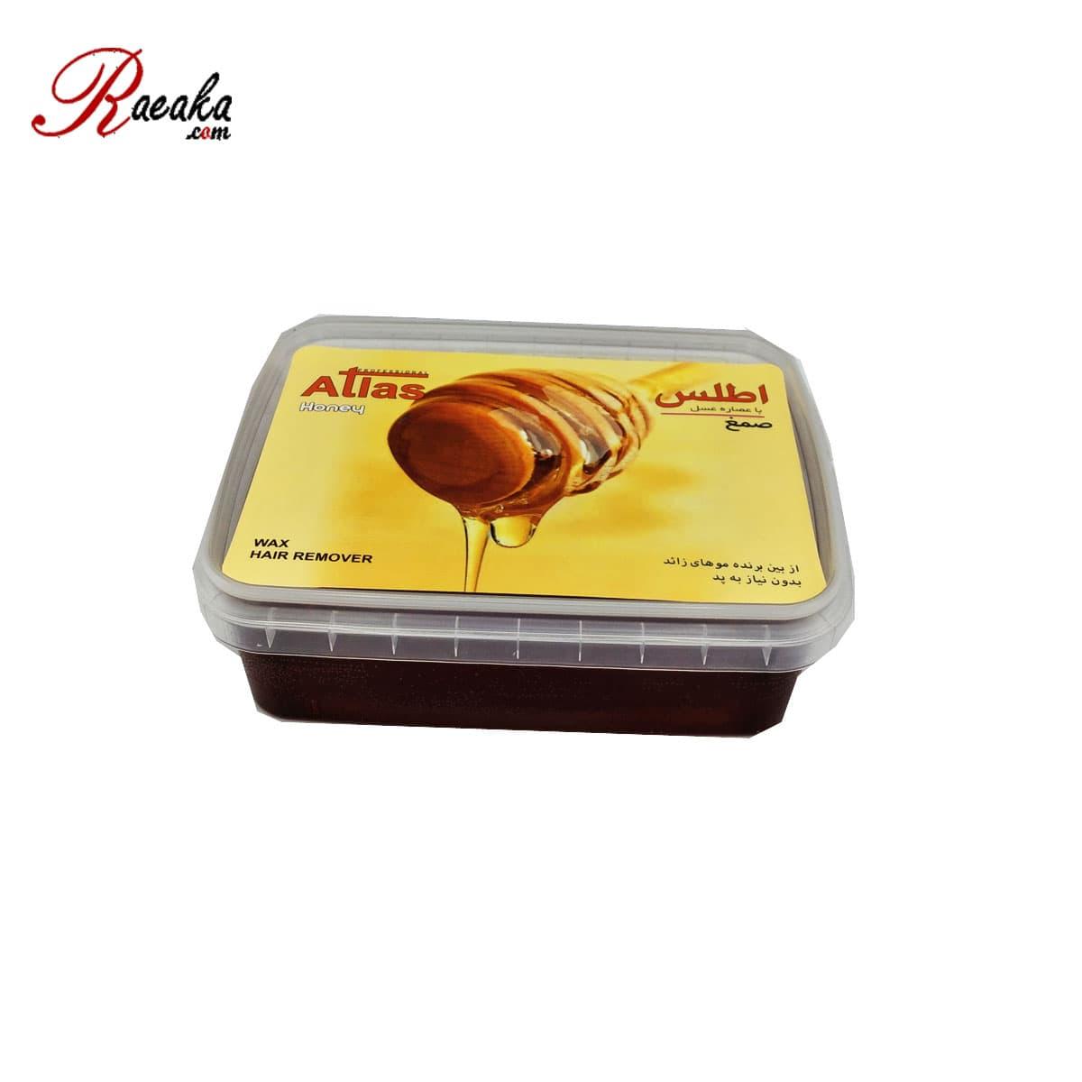 صمغ عربی اطلس با عصاره عسل(بدون نیاز به پد)وزن۵۰۰ گرم