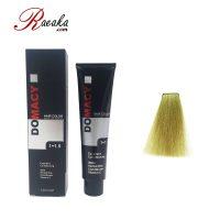 رنگ مو دوماسی سری زیتونی بلوند زیتونی پلاتینه ۱۰٫۸ حجم ۱۲۰ میلی لیتر