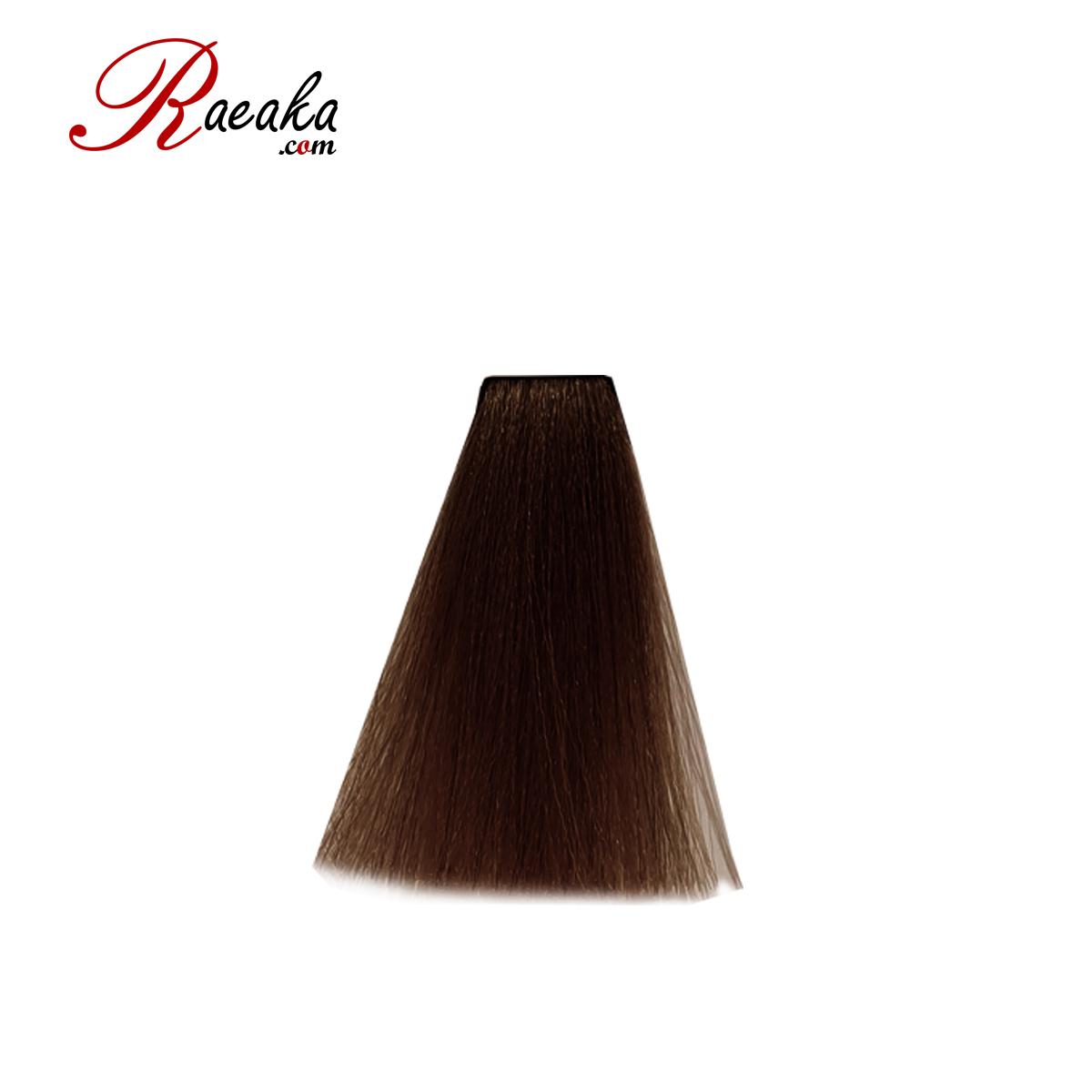 رنگ مو دوماسی سری فندقی قهوه ای فندقی تیره ۳٫۷۴ حجم ۱۲۰ میلی لیتر