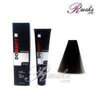 رنگ مو دوماسی سری دودی- قهوه ای دودی متوسط- شماره ۴٫۱ حجم ۱۲۰ میلی لیتر
