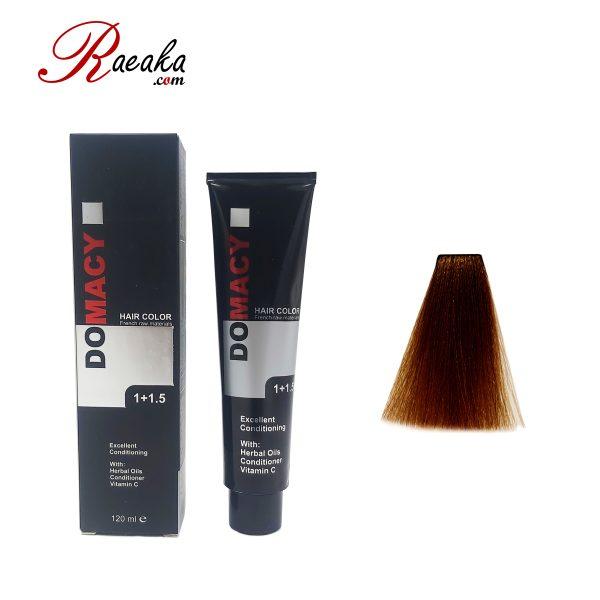 رنگ مو دوماسی سری مسی قهوه ای مسی متوسط ۴٫۴ حجم ۱۲۰ میلی لیتر
