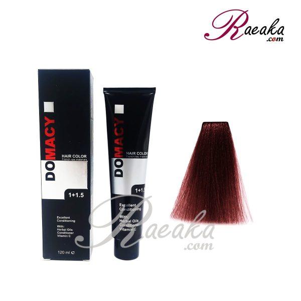 رنگ مو دوماسی سری لوکس- دارچینی- شماره ۵٫۷۵ حجم ۱۲۰ میلی لیتر