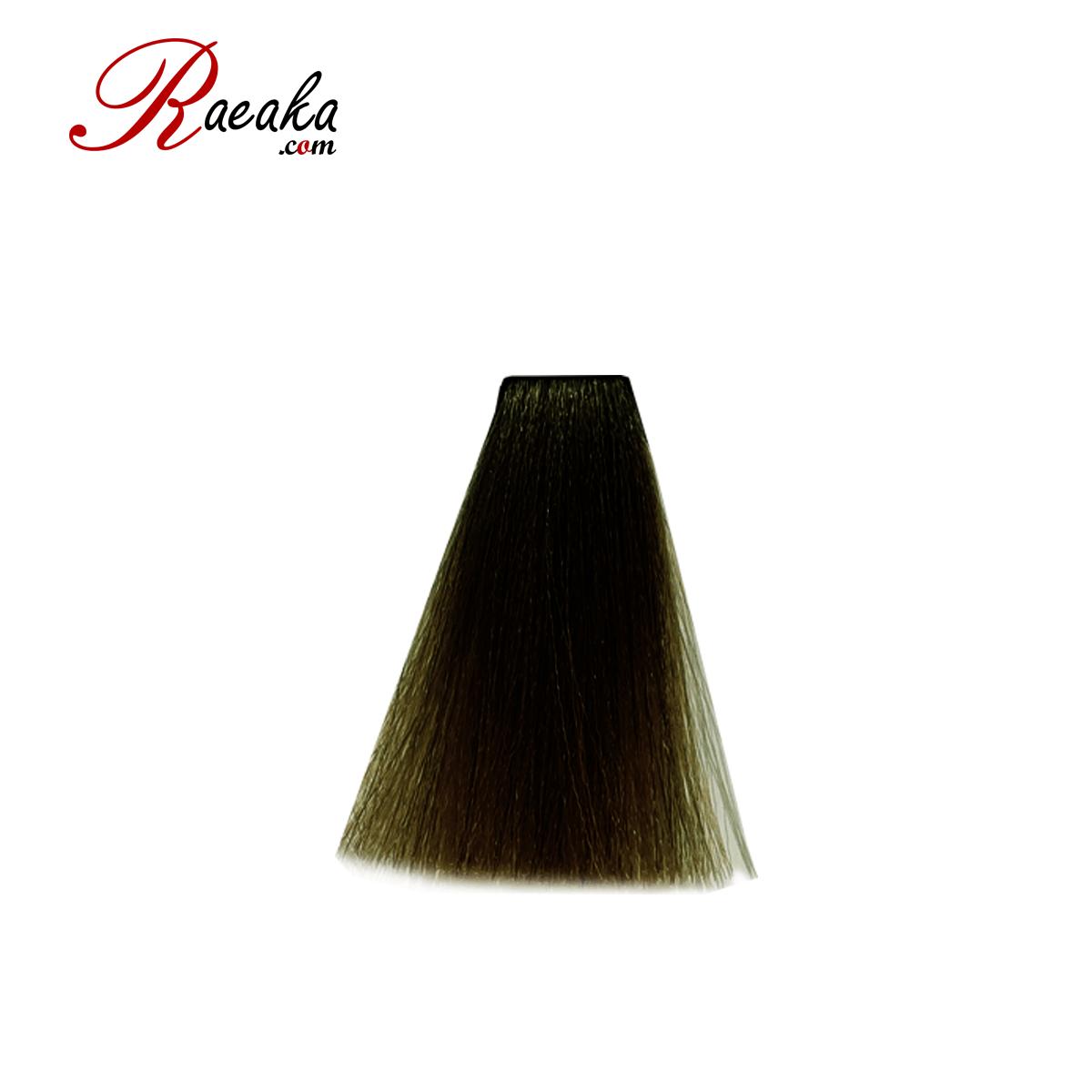 رنگ مو دوماسی سری زیتونی قهوه ای زیتونی روشن ۵٫۸ حجم ۱۲۰ میلی لیتر