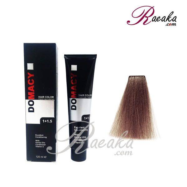رنگ مو دوماسی سری دودی- بلوند دودی متوسط- شماره ۷٫۱ حجم ۱۲۰ میلی لیتر