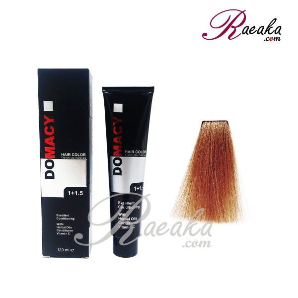 رنگ مو دوماسی سری مسی- پاییزی- شماره ۷٫۴ حجم ۱۲۰ میلی لیتر