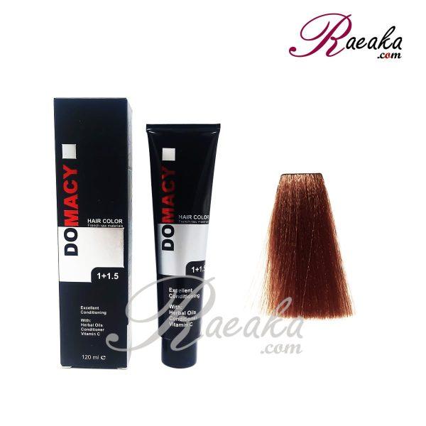 رنگ مو دوماسی سری شاه بلوطی- بلوند شاه بلوطی متوسط- شماره ۷٫۷۶ حجم ۱۲۰ میلی لیتر