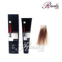 رنگ مو دوماسی سری کافی شاپ- بلوند نسکافه ای روشن- شماره ۸٫۱۷ حجم ۱۲۰ میلی لیتر