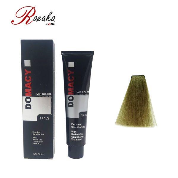 رنگ مو دوماسی سری زیتونی بلوند زیتونی روشن ۸٫۸ حجم ۱۲۰ میلی لیتر