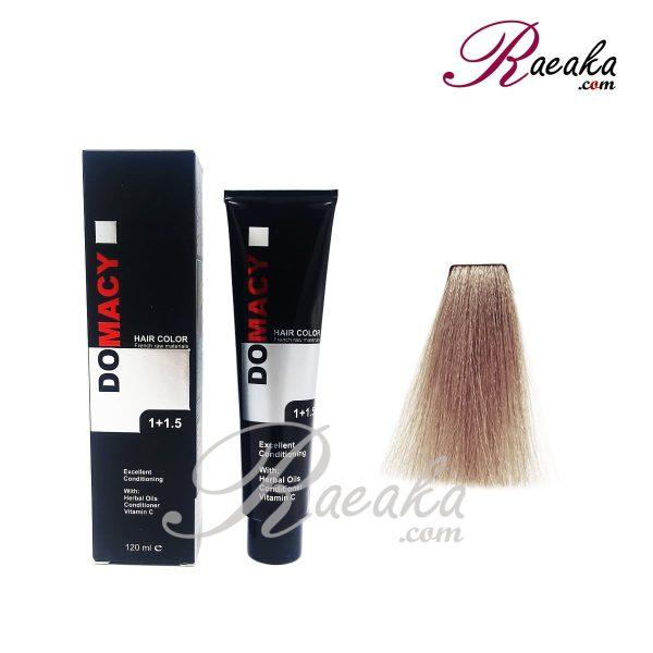 رنگ مو دوماسی سری دودی- بلوند دودی خیلی روشن- شماره ۹٫۱ حجم ۱۲۰ میلی لیتر