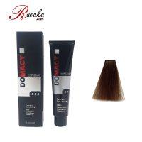 رنگ مو دوماسی سری تنباکویی قهوه ای تنباکویی متوسط ۴٫۰۸ حجم ۱۲۰ میلی لیتر