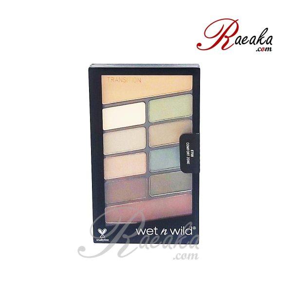 پالت سایه چشم ۱۰ رنگ Wet & Wild کد E759 وزن ۱۰ گرم