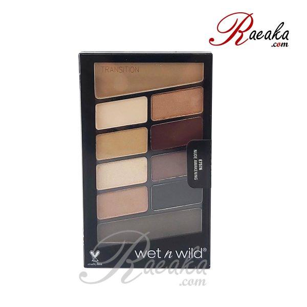 پالت سایه چشم ۱۰ رنگ Wet & Wild کد E757A وزن ۱۰ گرم