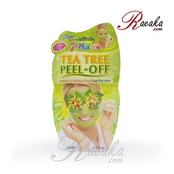 ماسک صورت لایه ای درخت چای سون هون مناسب برای پوست های آسیب دیده حجم 10 میلی لیتر