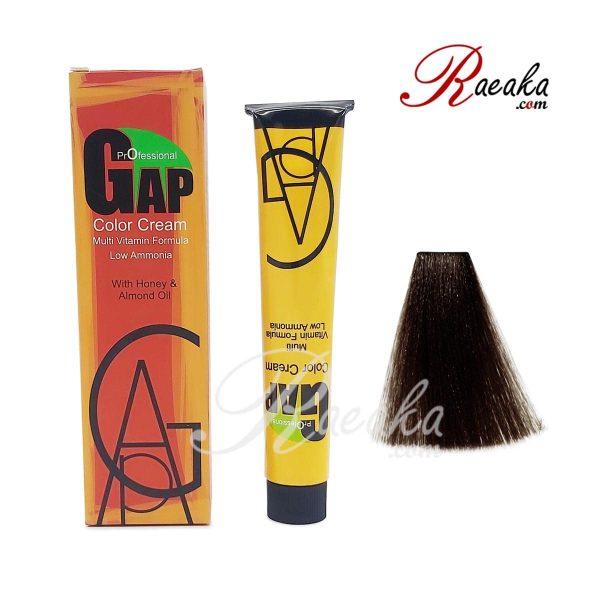 کیت رنگ موی گپ سری طبیعی- قهوه ای تیره- شماره 3/۰ حجم ۱۰۰ میلی لیتر