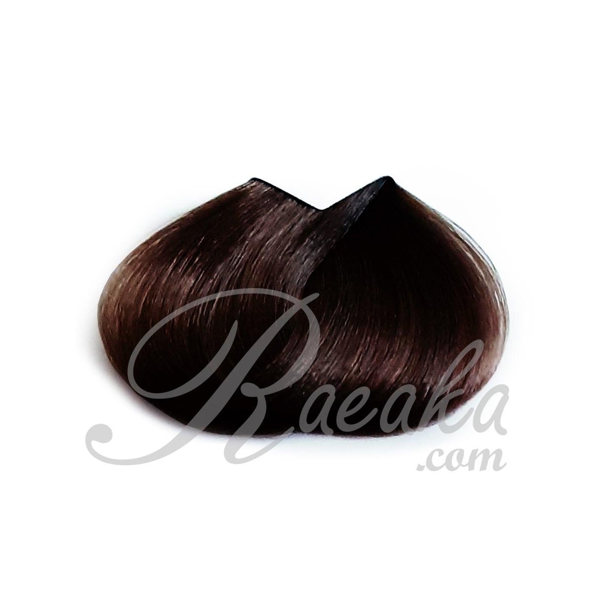 کیت رنگ موی زی فام شماره ۴ (قهوه ای طبیعی) با محافظت سه گانه