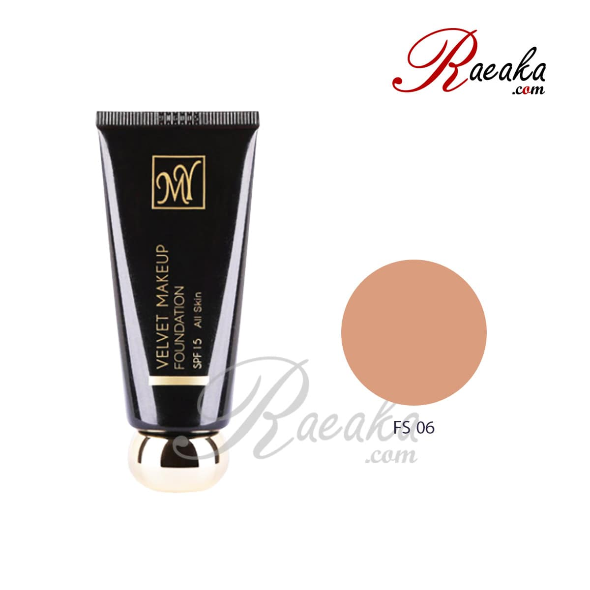 کرم پودر نیمه مات سری بلک دایموند مای کد FS06 مناسب پوست های معمولی تا خشک حجم ۳۵ میلی لیتر