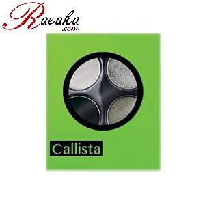 سایه چشم چهارتایی کالیستا کد E21 وزن خالص ۲٫۵*۴ گرم