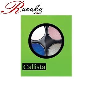 سایه چشم چهارتایی کالیستا کد E23 وزن خالص ۲٫۵*۴ گرم