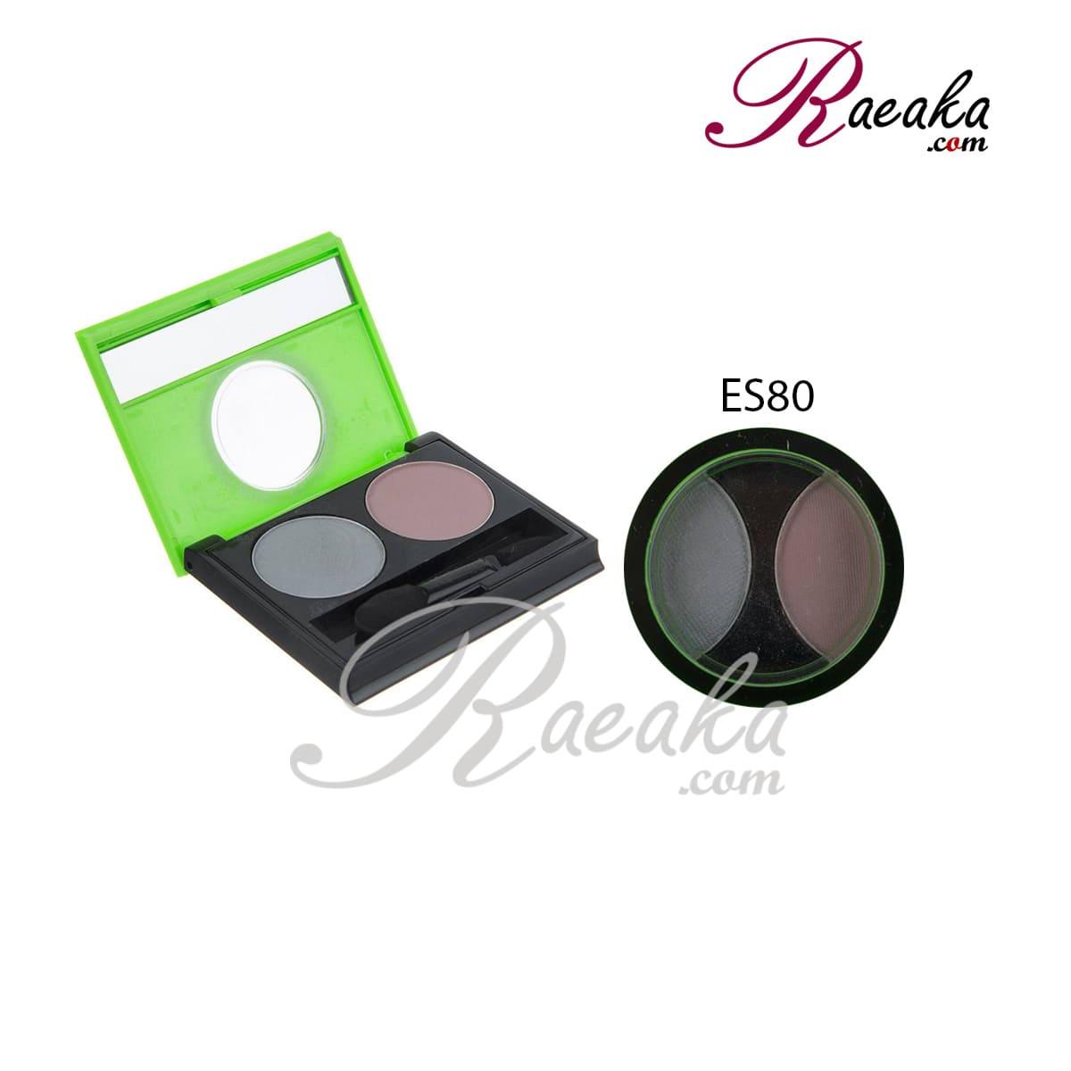 سایه چشم دو تایی کالیستا کد ES80 وزن ۲٫۵*۲ گرم