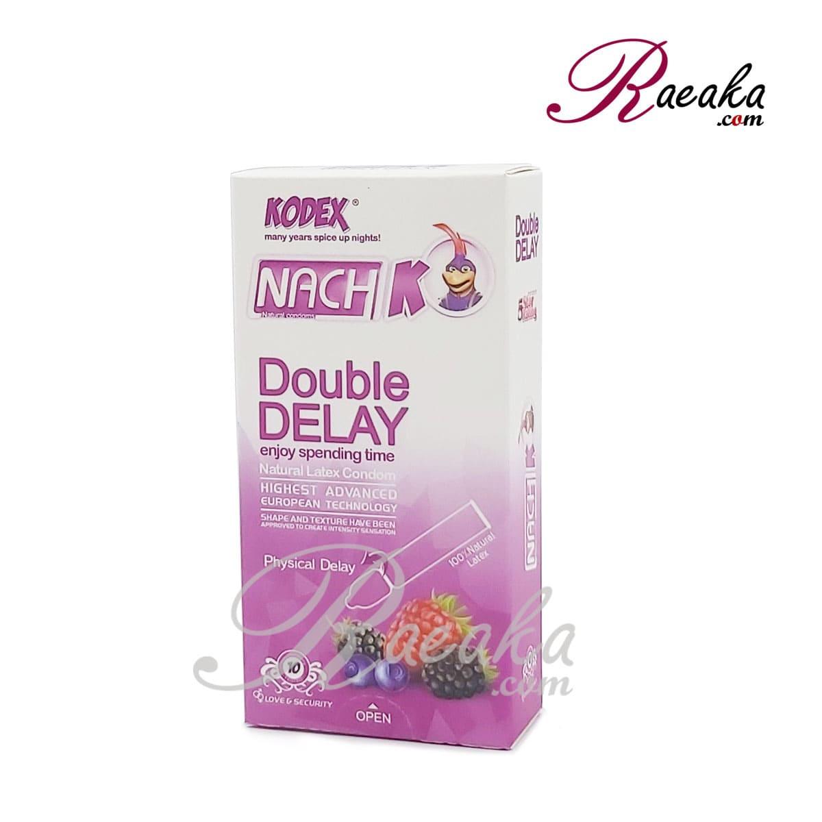 کاندوم مدل Double Delay ناچ کدکس تاخیری دو برابر بسته ۱۰ عددی