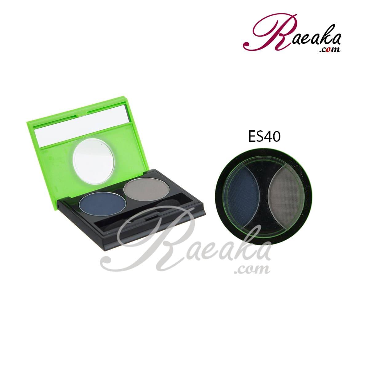 سایه چشم دو تایی کالیستا کد ES40 وزن ۲٫۵*۲ گرم
