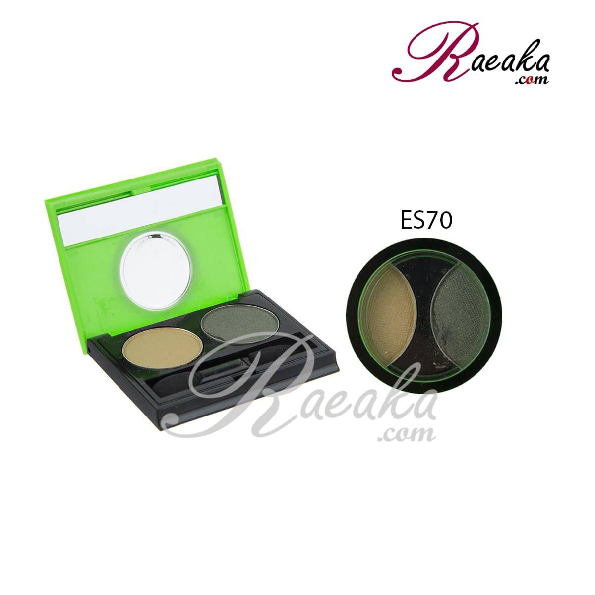 سایه چشم دو تایی کالیستا کد ES70 وزن ۲٫۵*۲ گرم