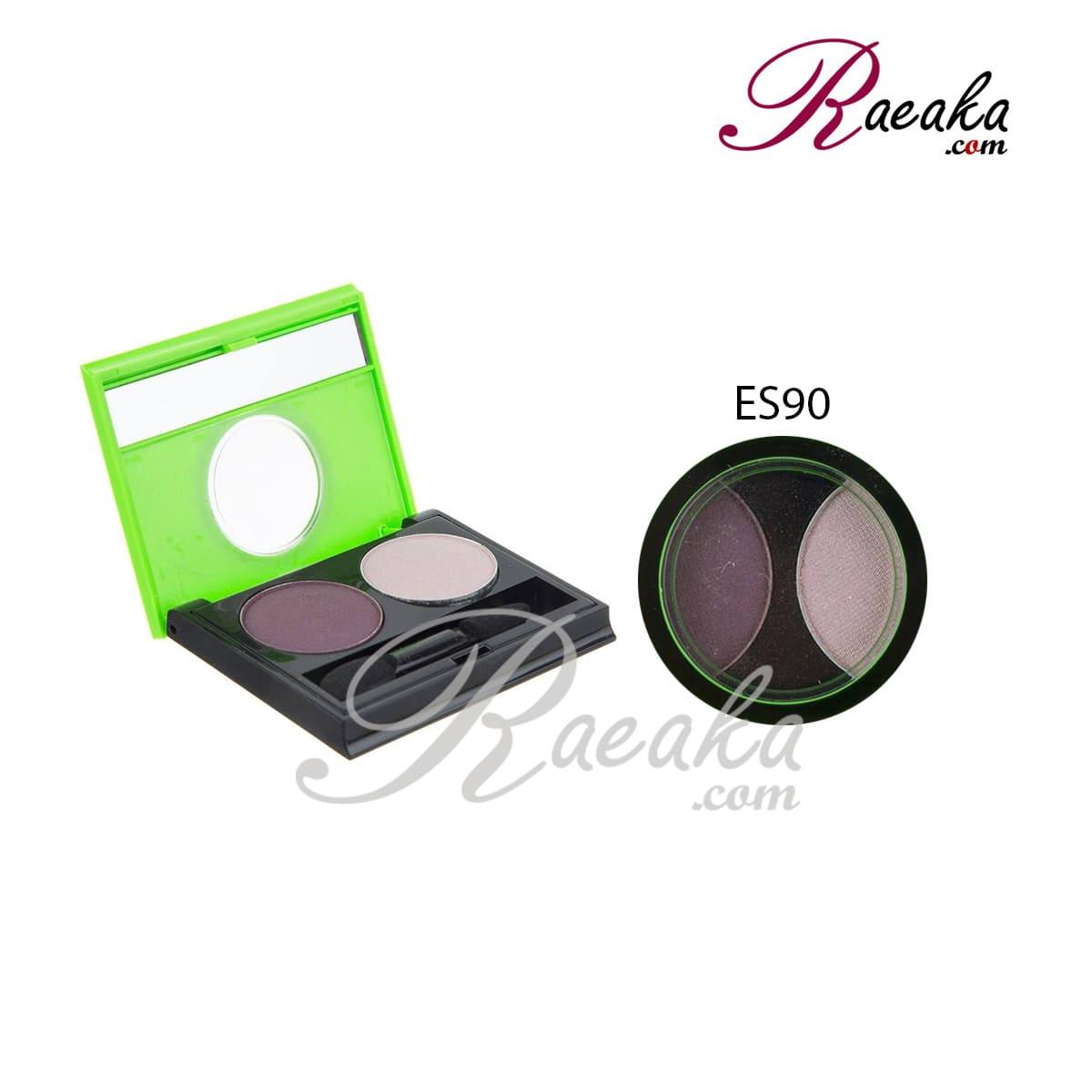سایه چشم دو تایی کالیستا کد ES90 وزن ۲٫۵*۲ گرم