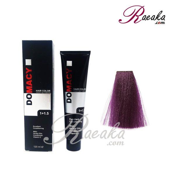 رنگ مو دوماسی سری واریاسیون- واریاسیون بنفش- شماره ۰٫۲۲ حجم ۱۲۰ میلی لیتر