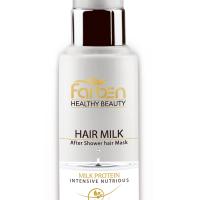 شیر موی بدون آبکشی فاربن مناسب انواع مو به ویژه موهای خشک و آسیب دیده حجم 100 میلی لیتر