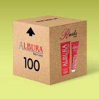 پکیج 100 عددی رنگ مو آلبورا (قیمت تخفیفی)